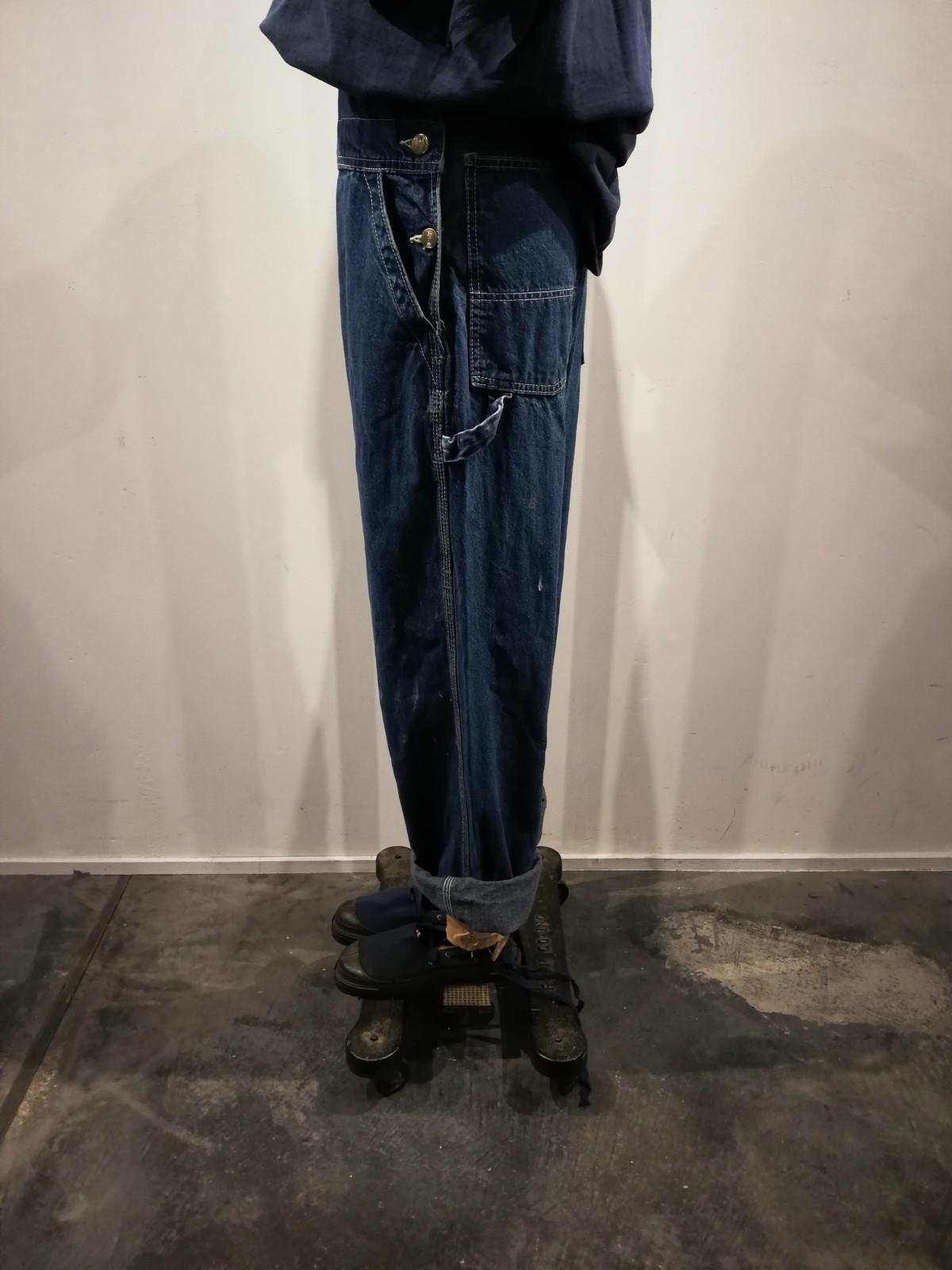 BIG SMITH, denim overalls, Dead Stock espadrilles,