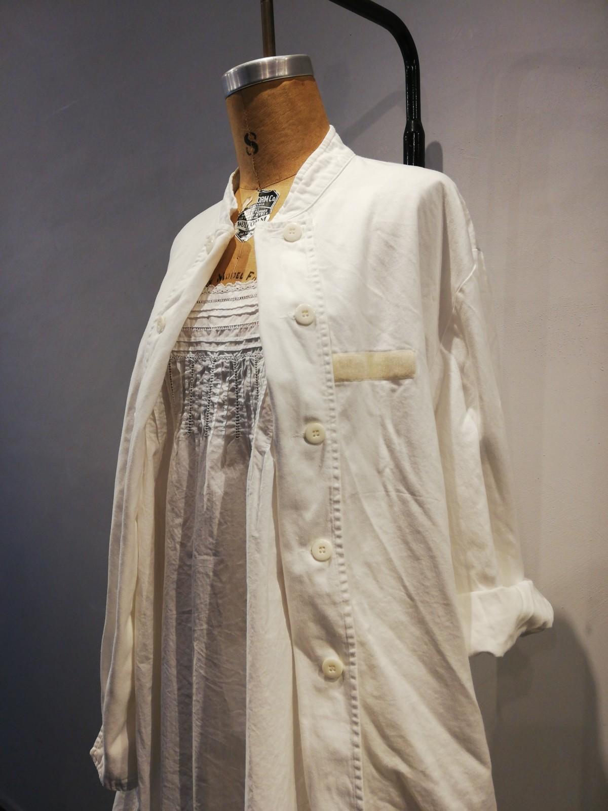cook jacket, France, vintage