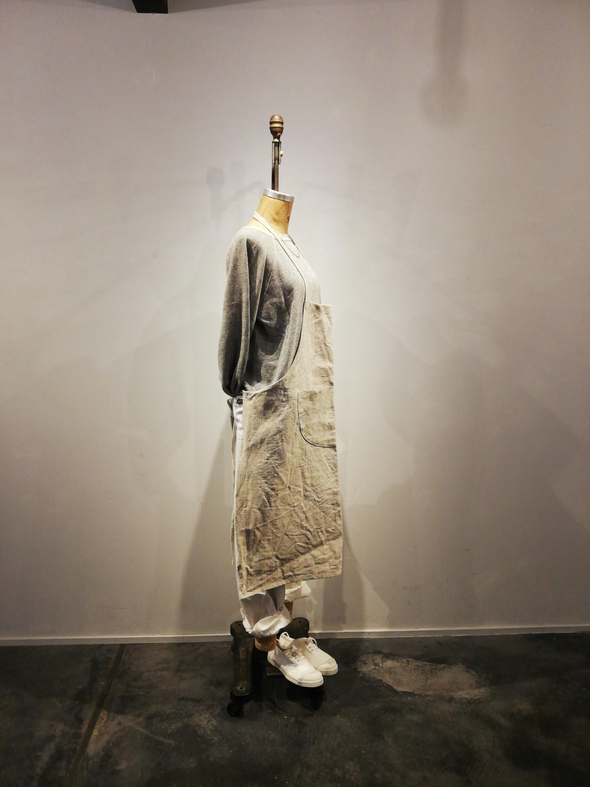 DEECEE,painter pants,USA, bensimon, BROWN.remake, apron