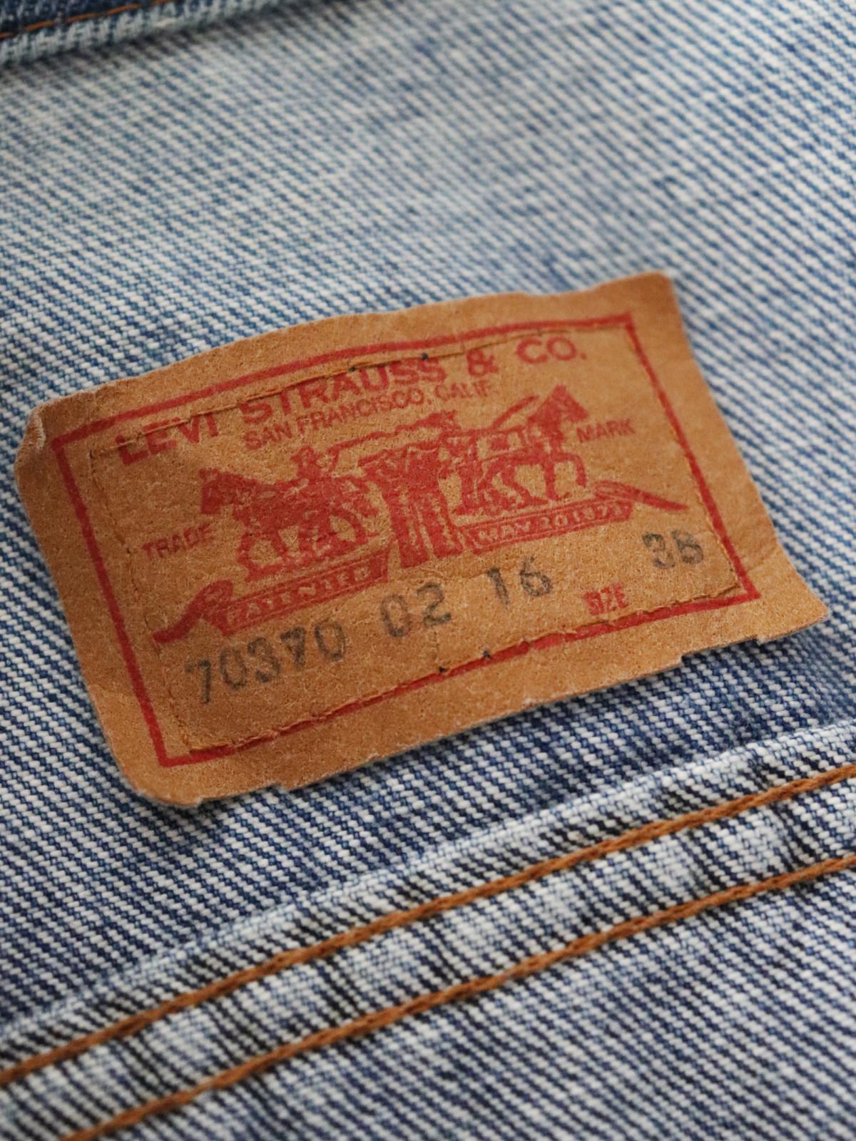 Levis',denim jacket, USA