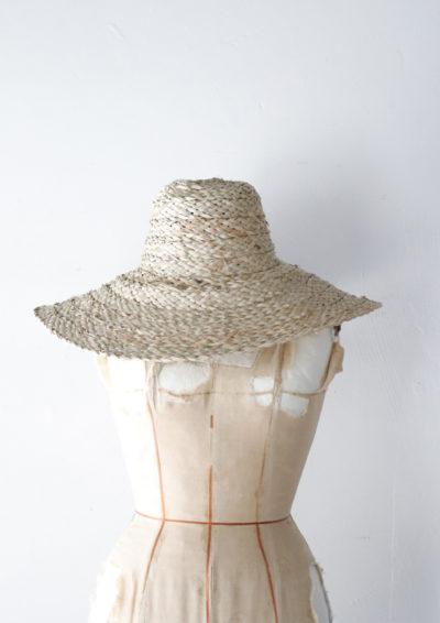 Straw hat, Africa, handmade