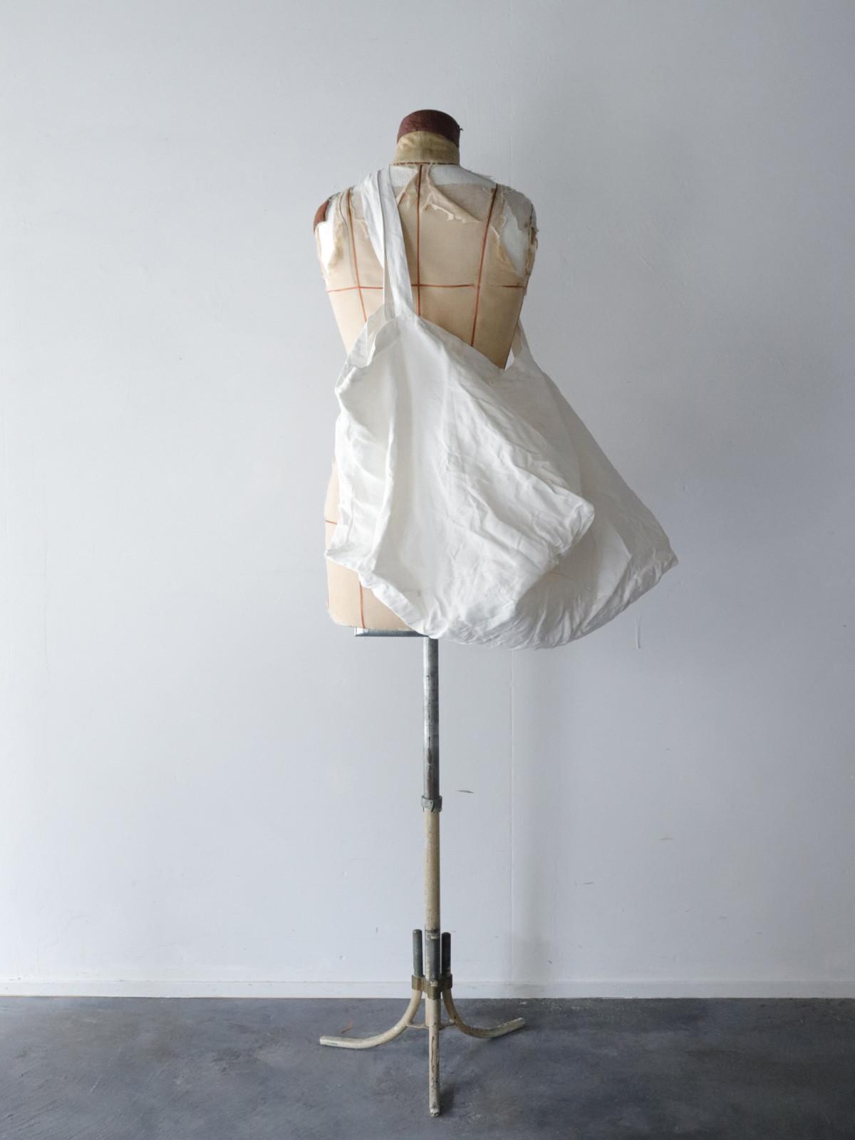 Dead Stock, linen, bag, BROWN.remake