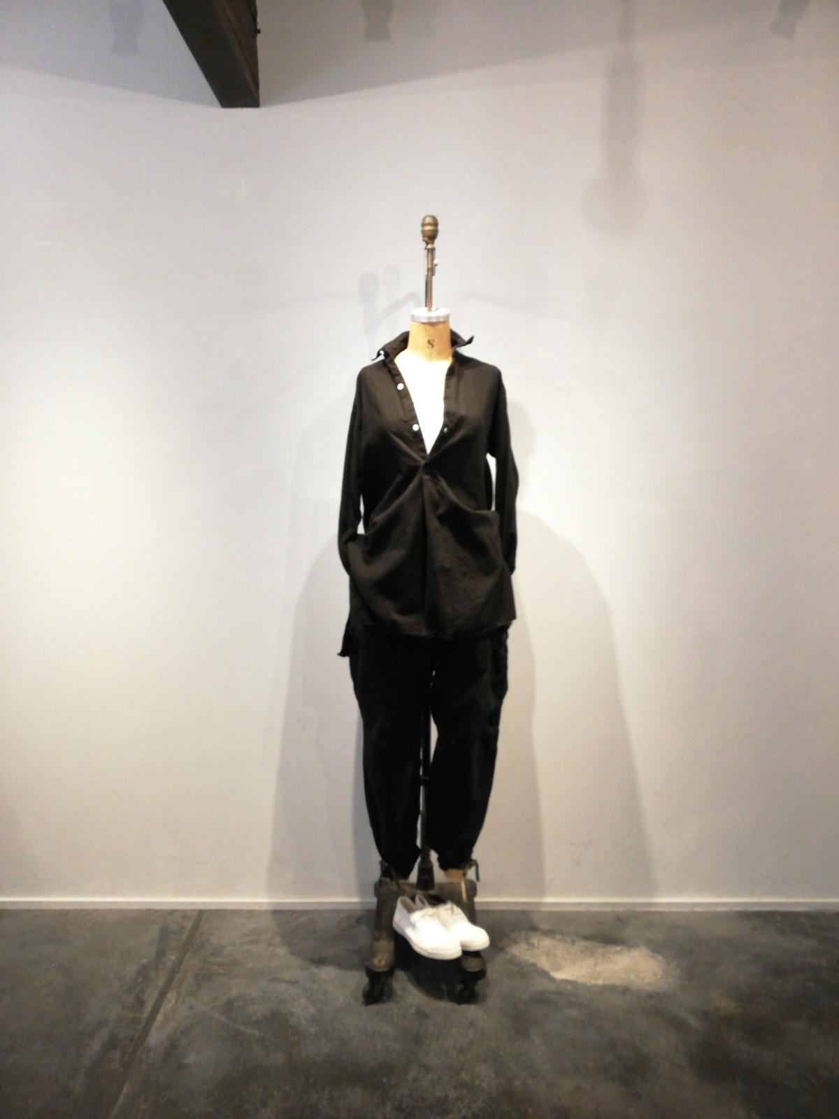 USM, cargo pants,Black-dyed ,