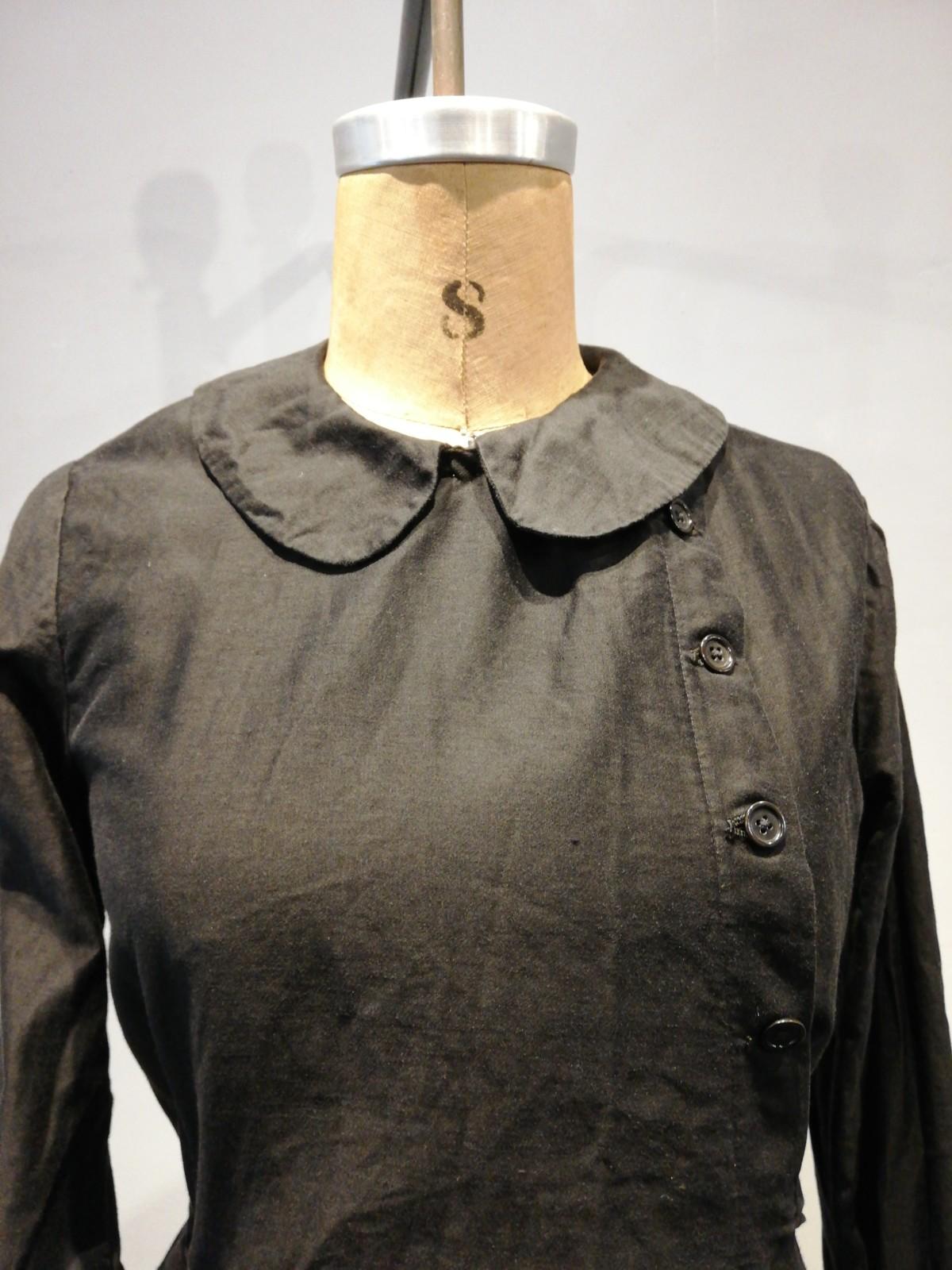 Cotton satin coat, one-piece, France