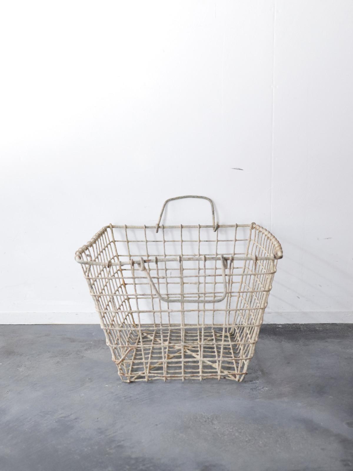 metal, basket,France