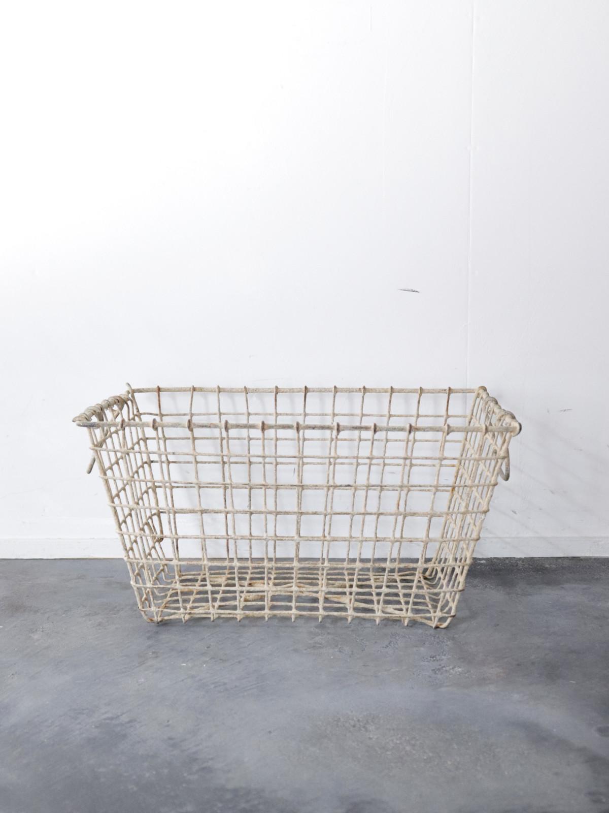 metal,basket,France, vintage