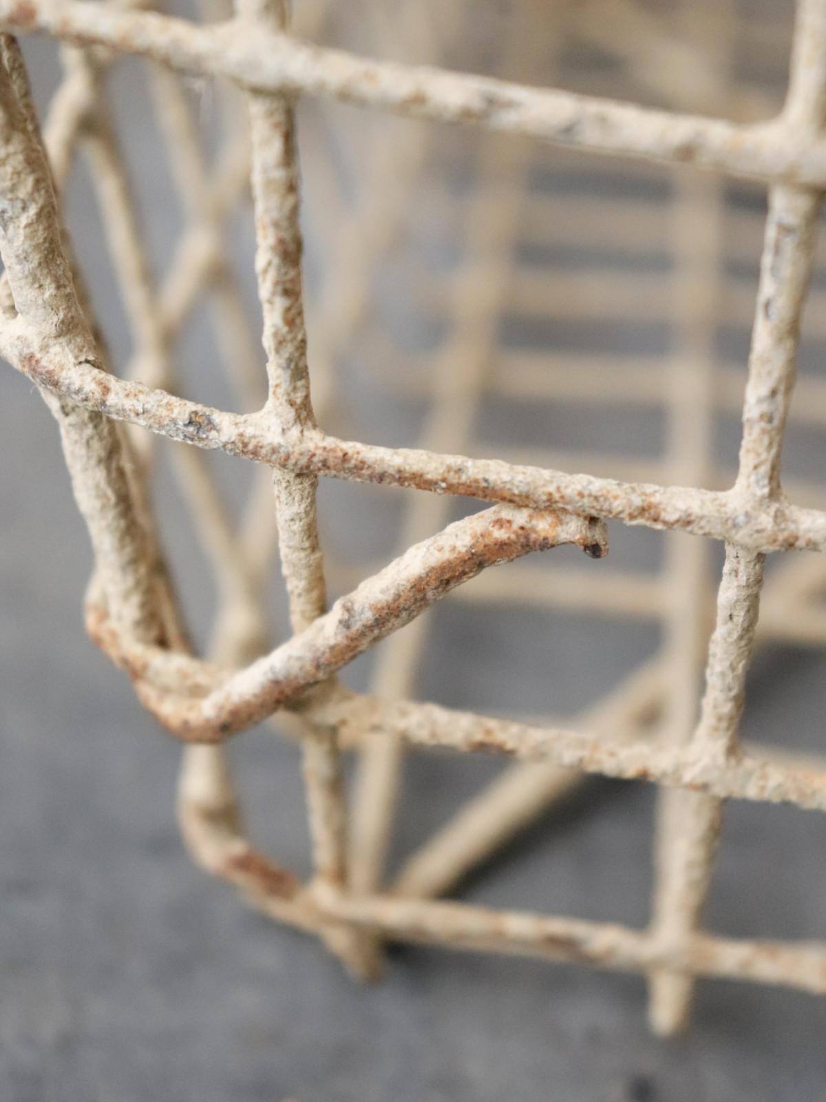 _metal, basket,France, vintage