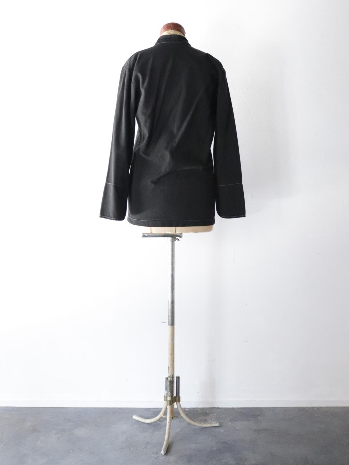 Black-dyed , cook jacket, France