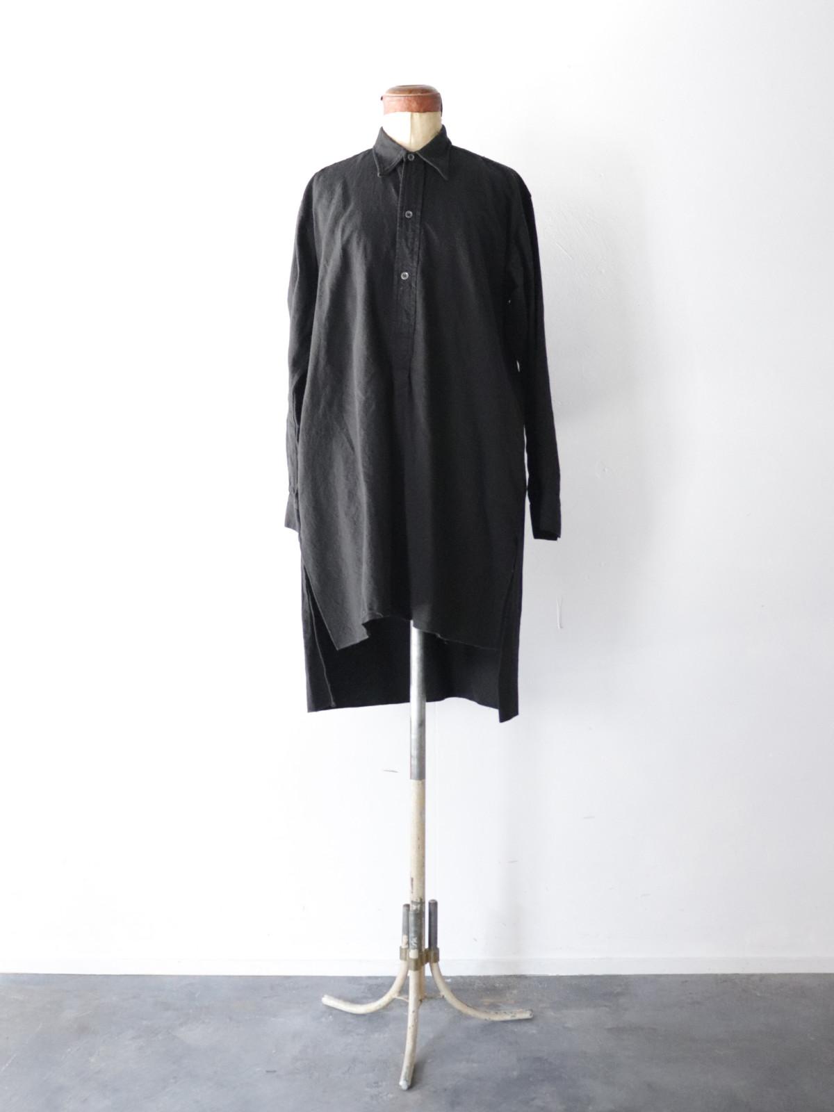 Black-dyed ,long shirts,europe
