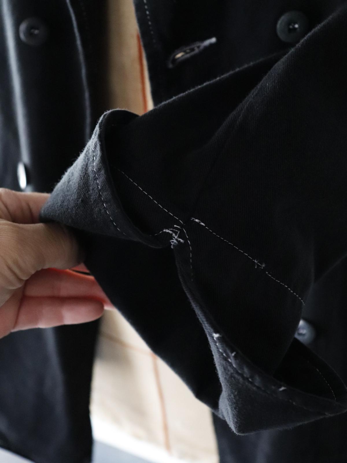 Black-dyed , cook jacket,France