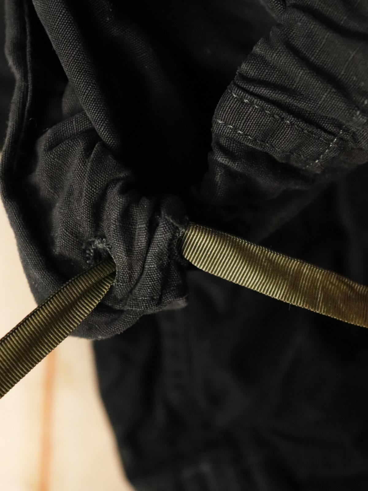 USM,cargo pants,Black-dyed ,