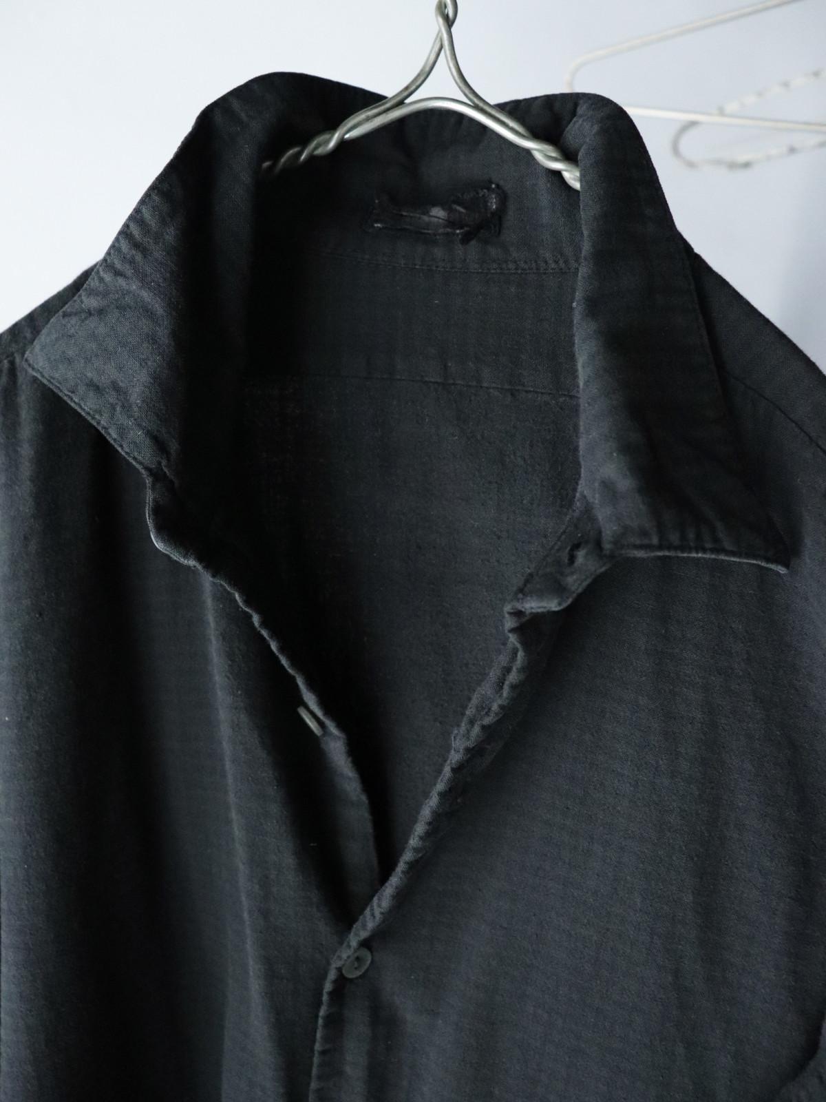 Black-dyed , long shirts,europe