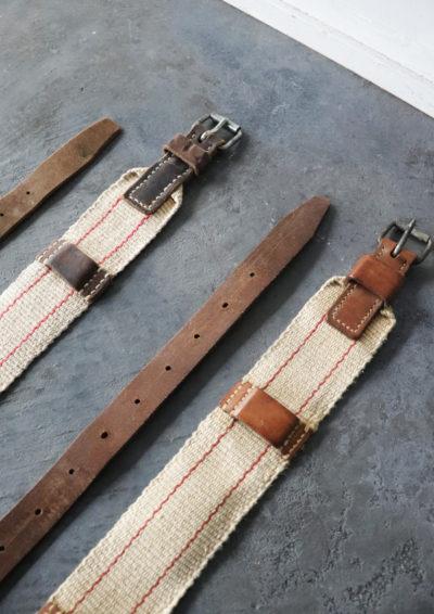 swiss army, belt, vintage
