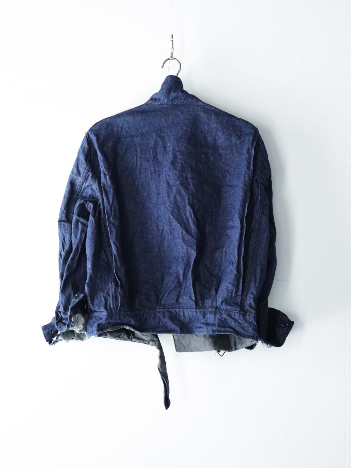 Dead stock, italian military, denim jacket