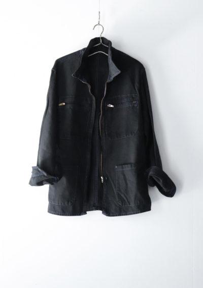 Black-dyed , zip blouson, europe