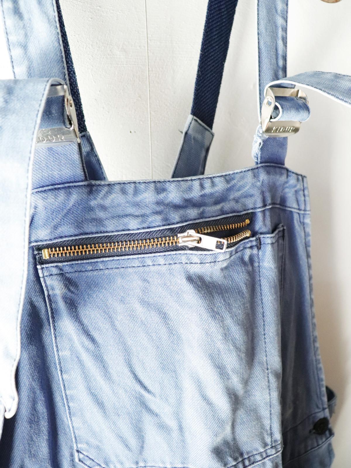 Vintage, cotton, work, overalls,France