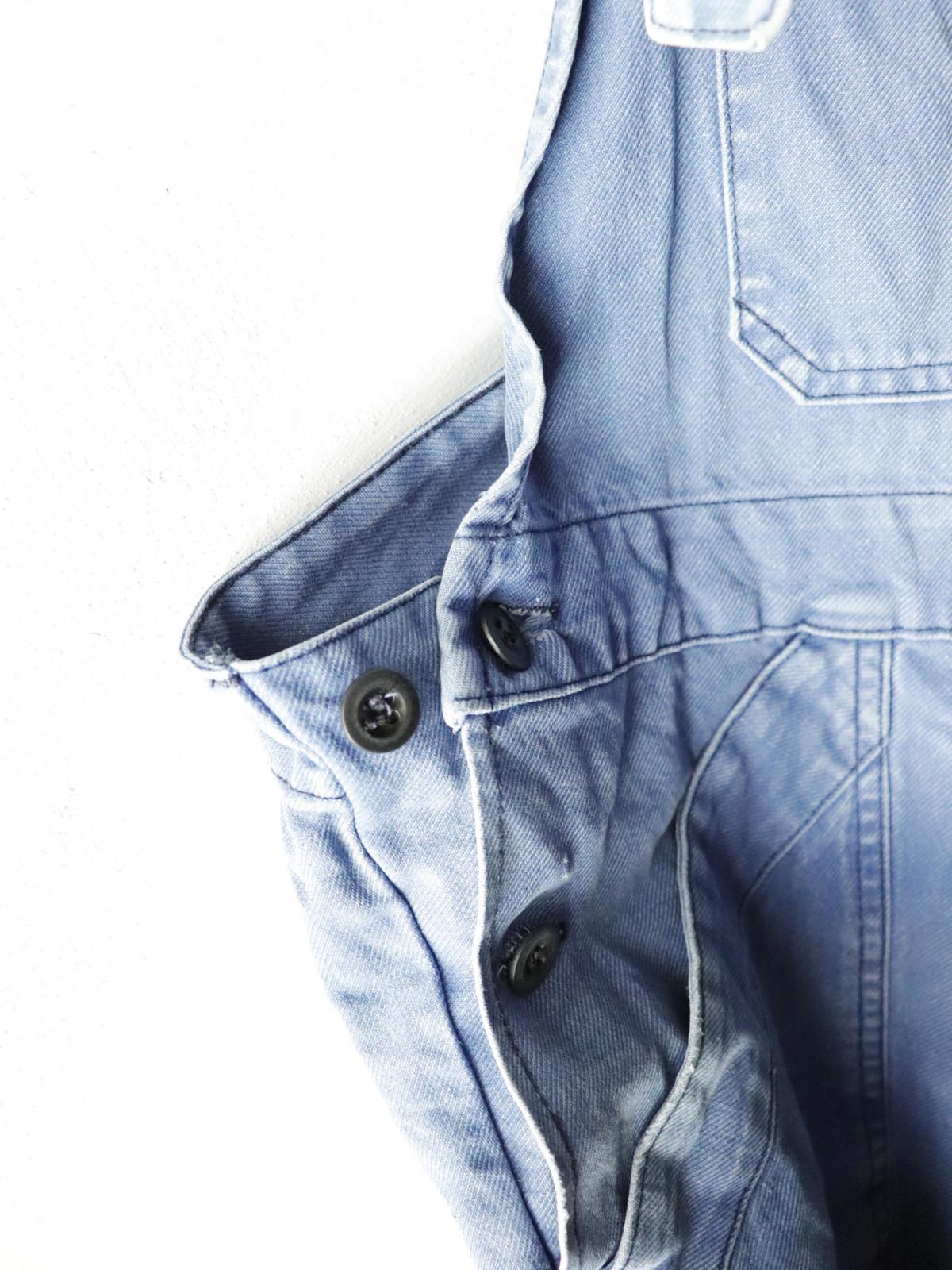 Vintage ,cotton, work, overalls,France