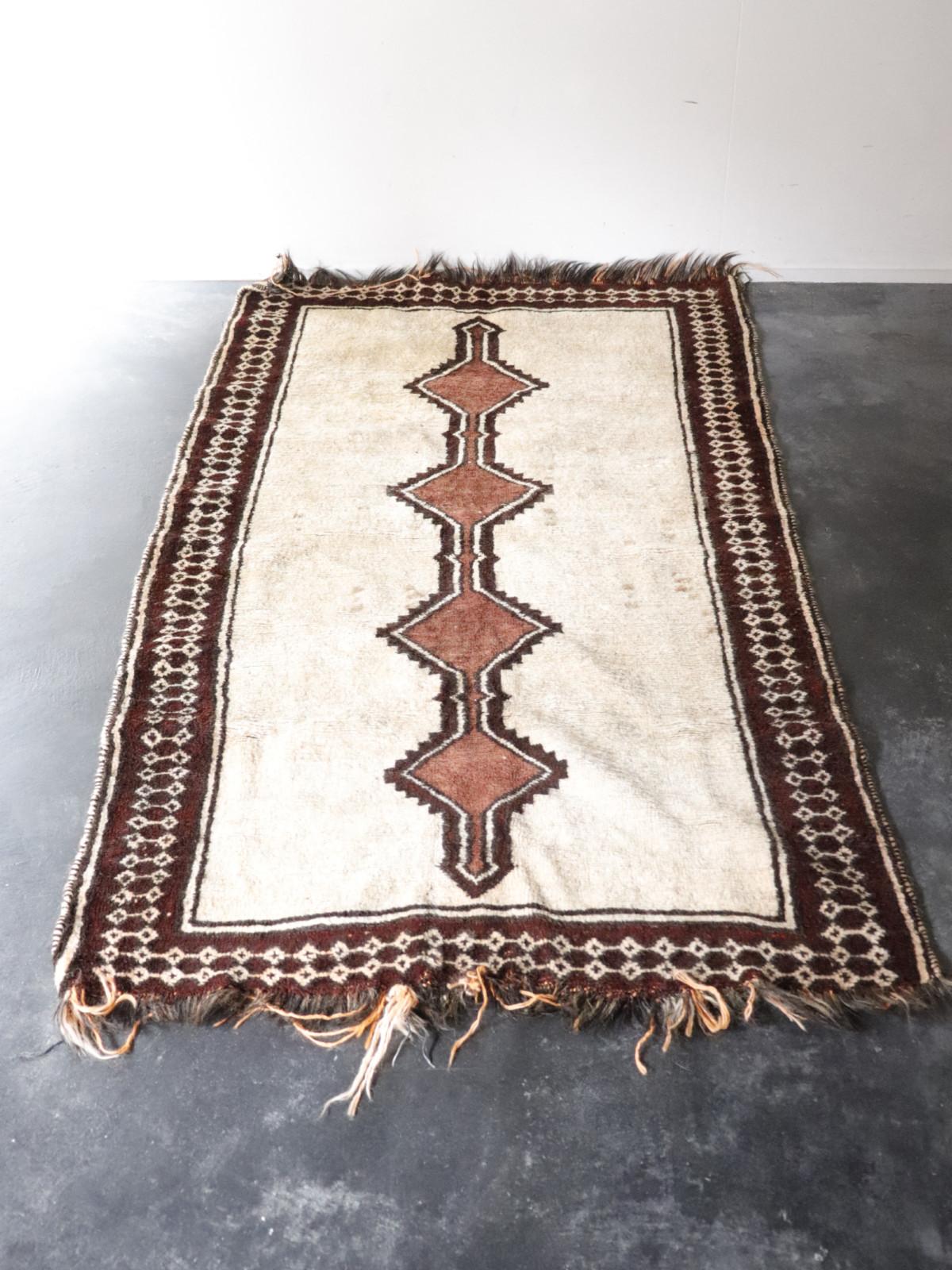 vintage, rug, wool