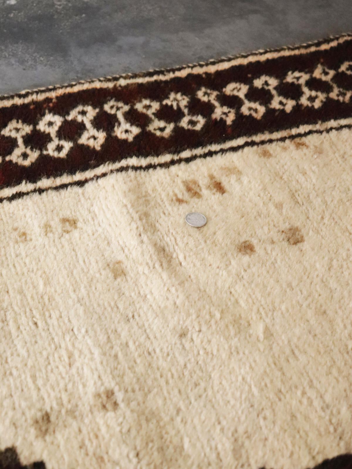 vintage, wool rug