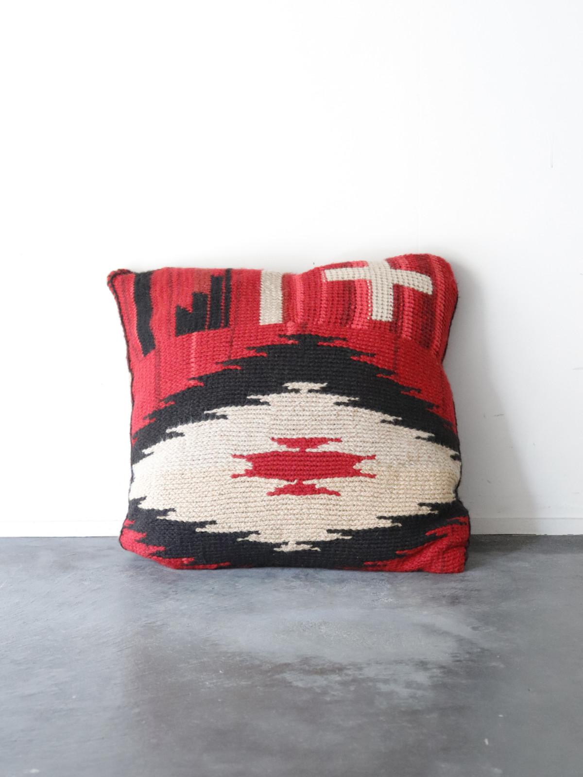 Ralph Lauren, knit, patchwork,cushion,USA