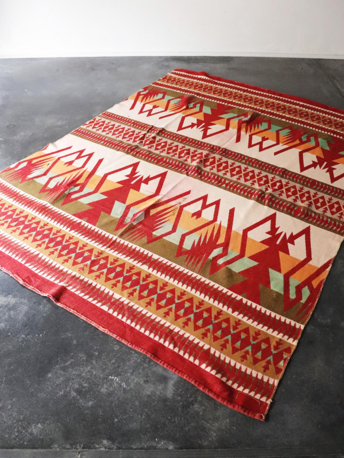 Vintage , wool blanket, USA