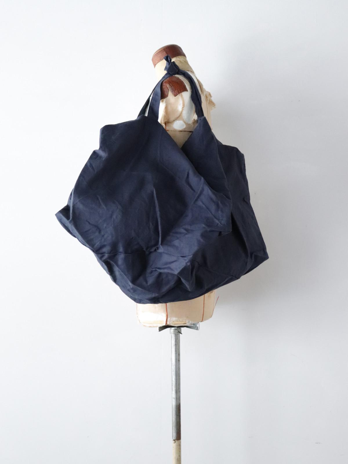Dead stock,irish linen fabric,brown.remake,bag