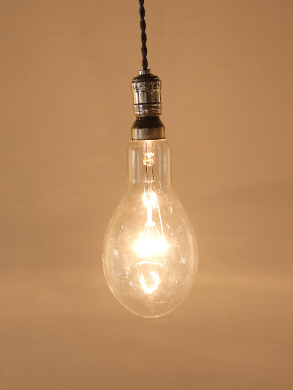 nickel plated,lamp,usa,vintage
