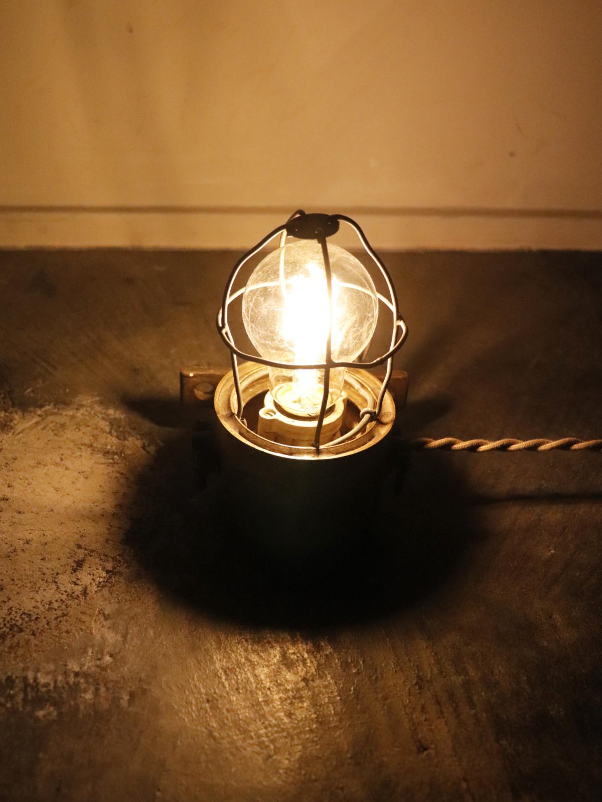 desk marine lamp,usa,vintage