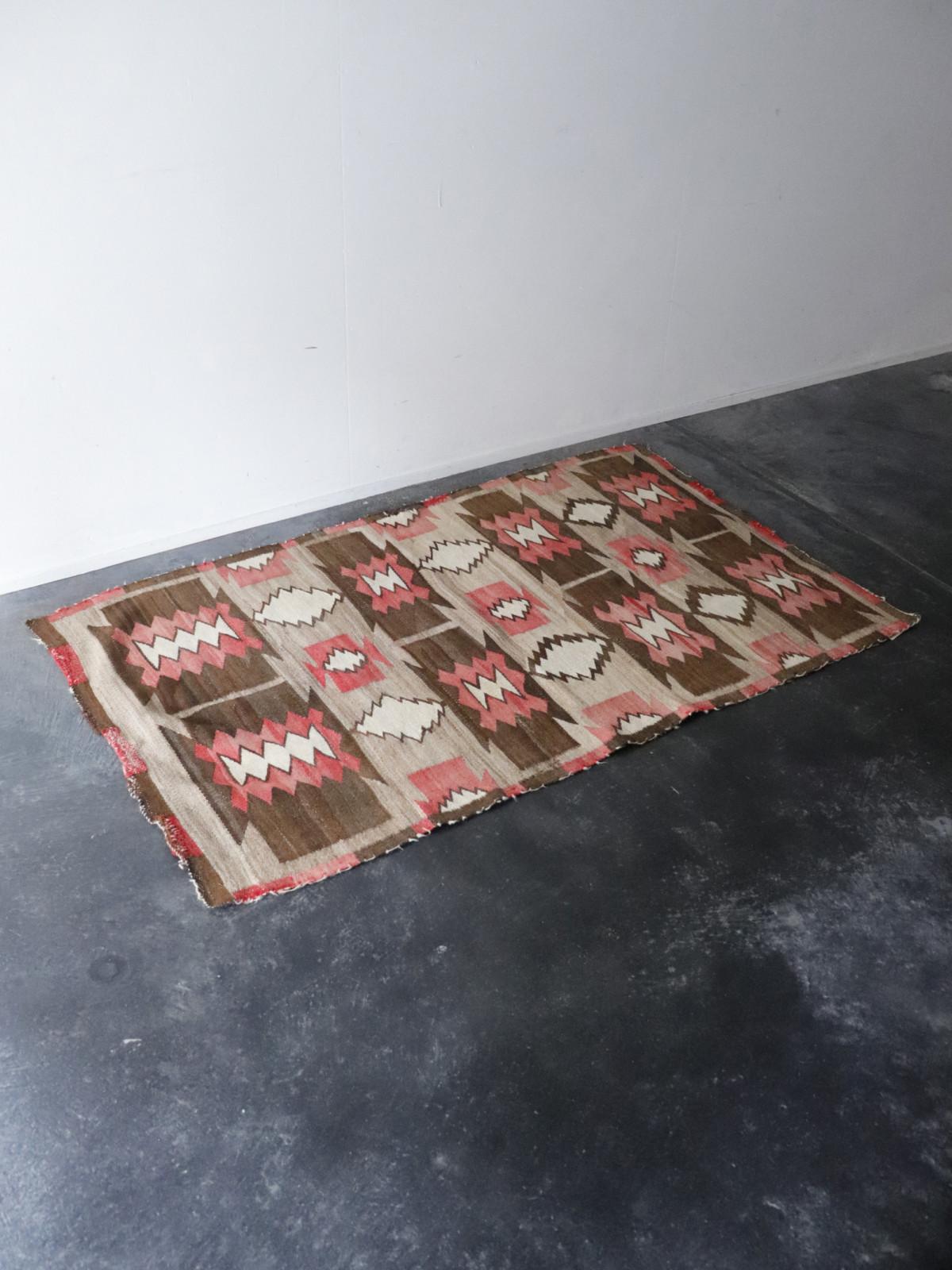 navajo rug, vintage, usa