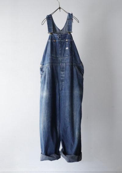 vintage,denim overall, usa,lee