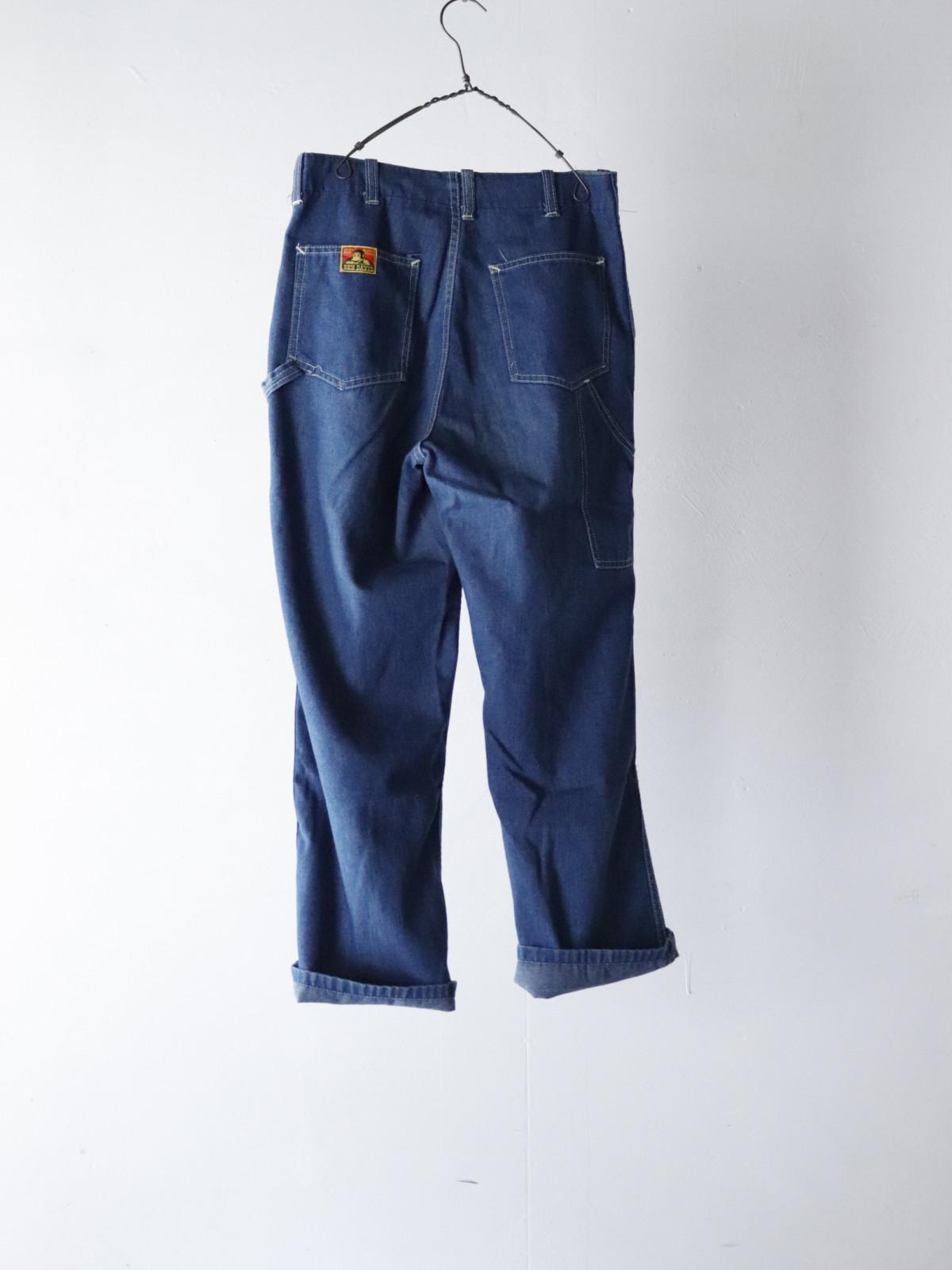 _vintage,denim painter pants,usa