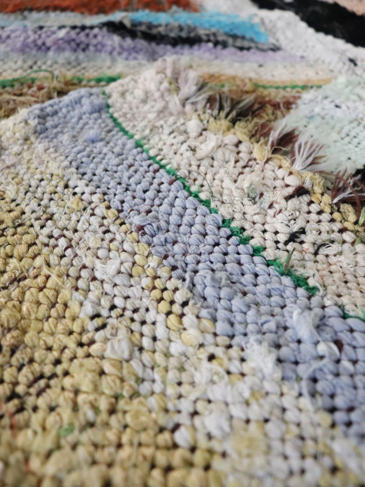 Boucherouite,rag rug,morocco
