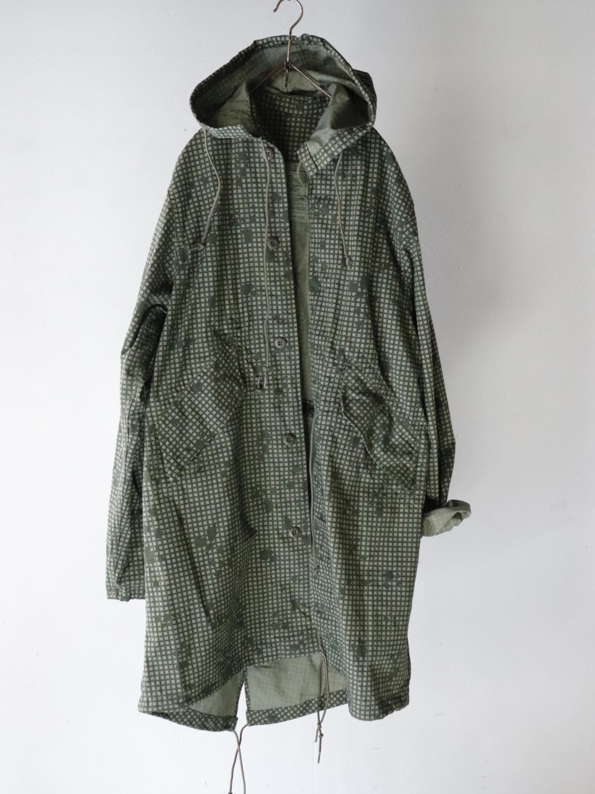 USA,military,night camo,coat,vintage