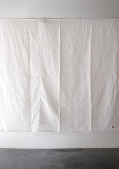 Vintage,linen,fabric,france,monogram