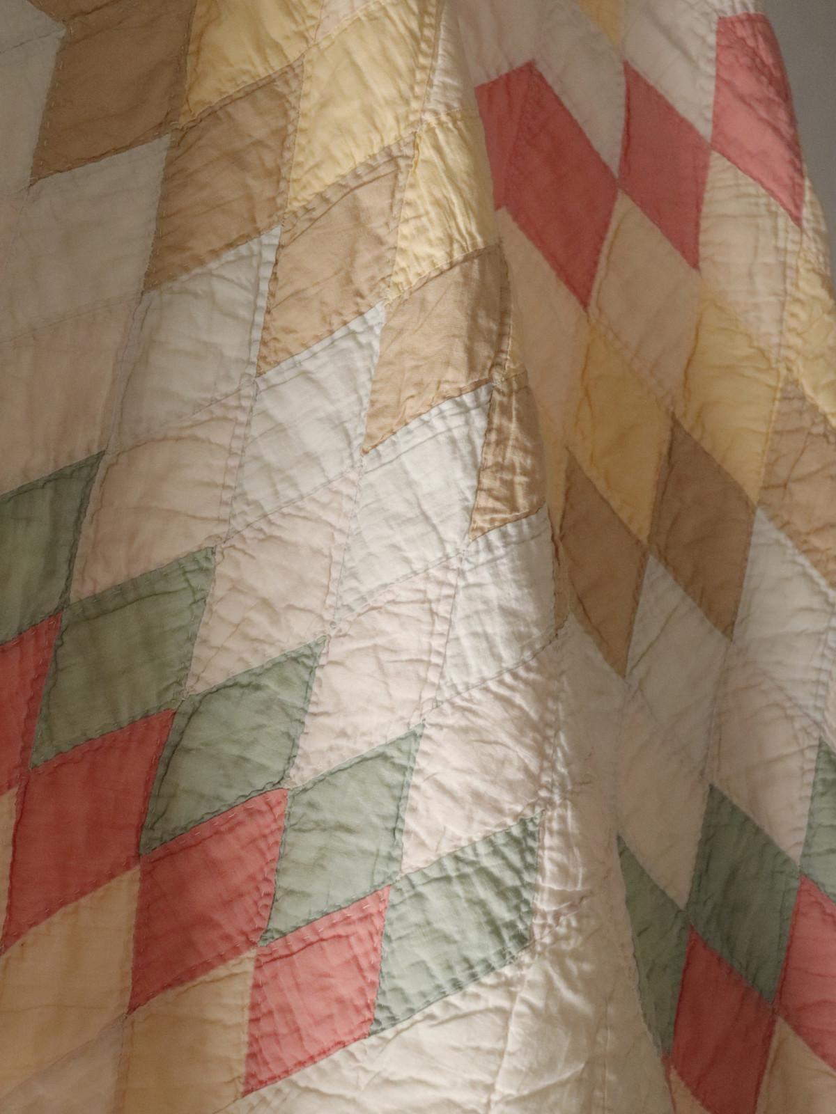 1932's,handmade quilt,USA,vintage