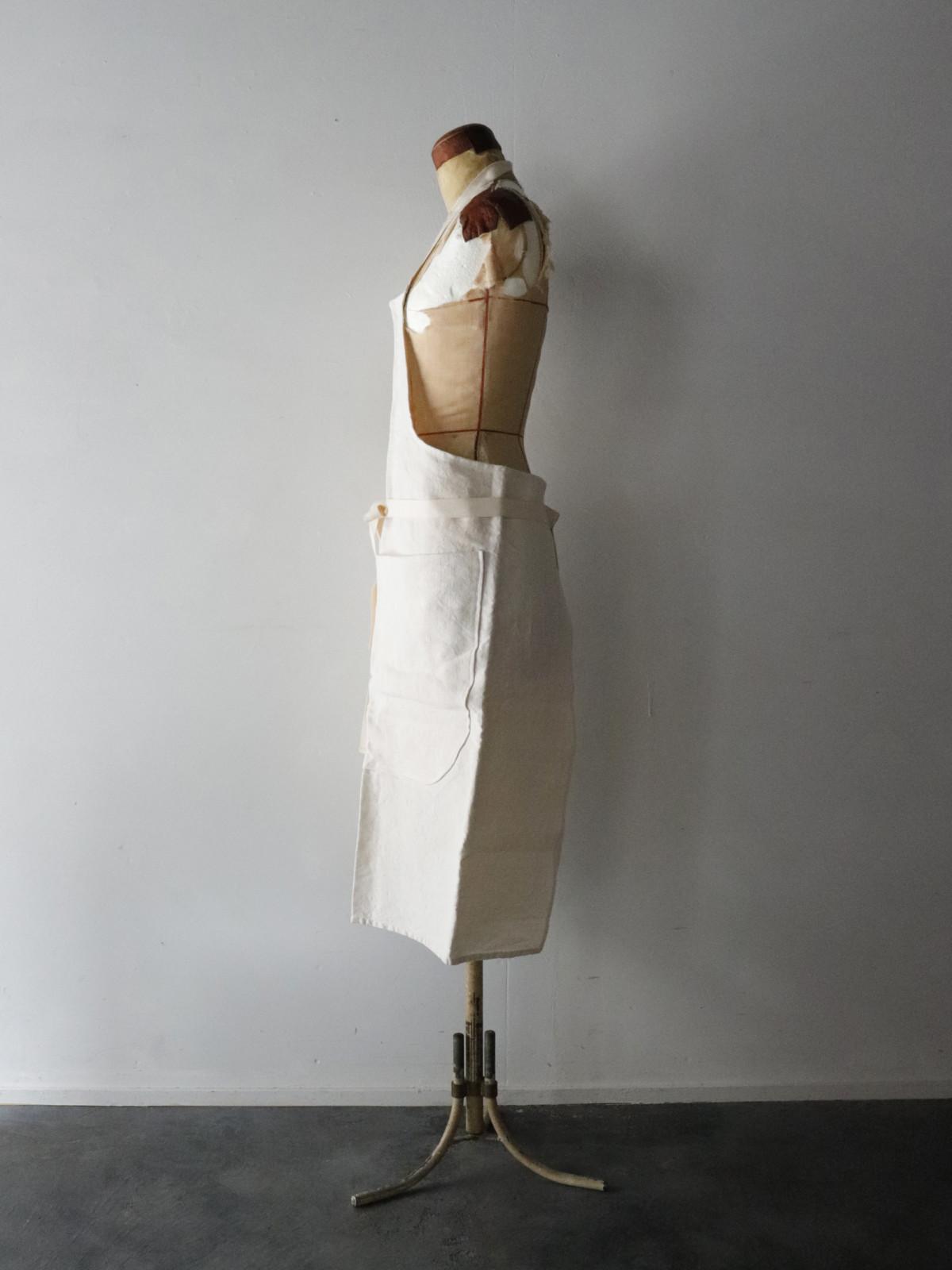 antique,dyed linen,fabric,france,vintage,apron