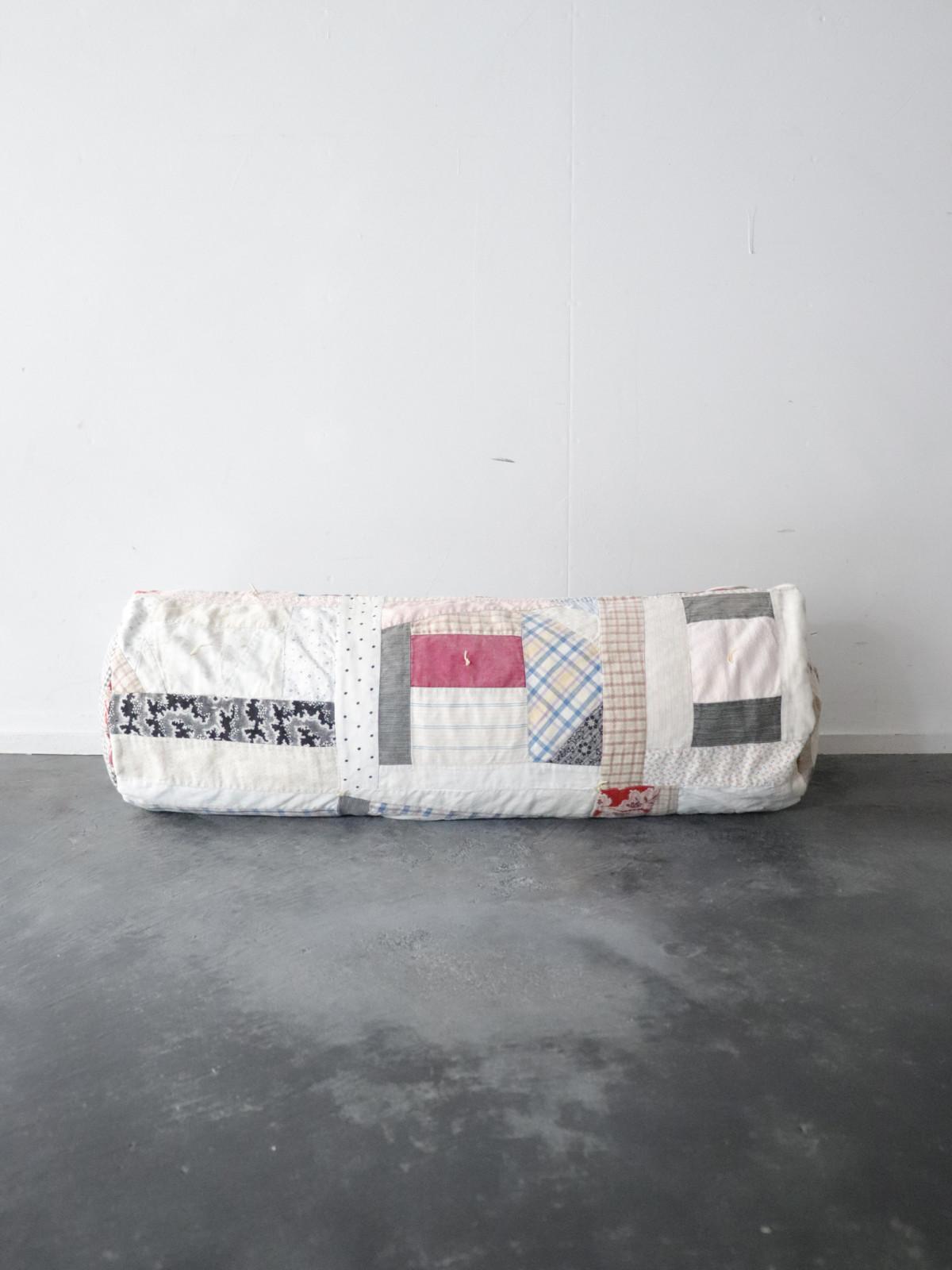 1900's,quilt cushion,crazy quilt,cushion,BROWN.remake,usa