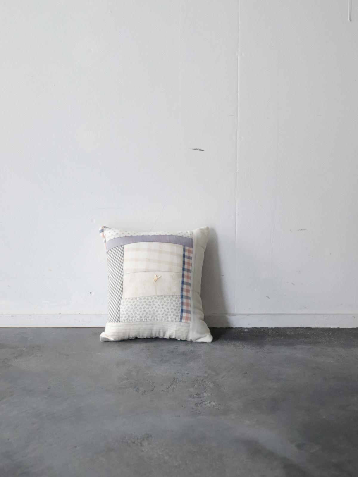 1900's,quilt cushion,crazy quilt,cushion,BROWN.remake,tiny cushion,usa