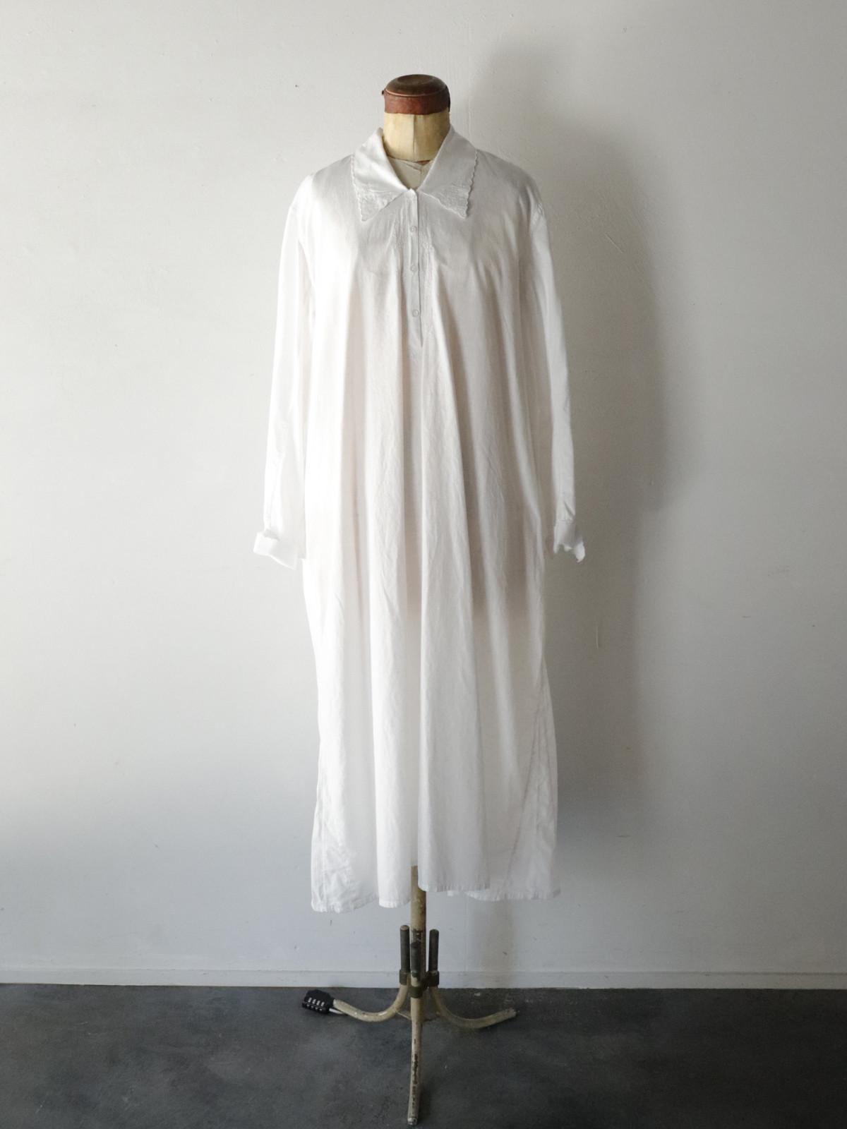 vintage,europe,linen,cotton,nightwear,lace,enbroidery,onepiece