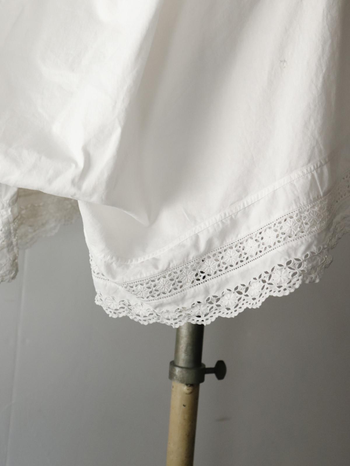 _vintage,europe,linen,cotton,nightwear,lace,enbroidery,pants
