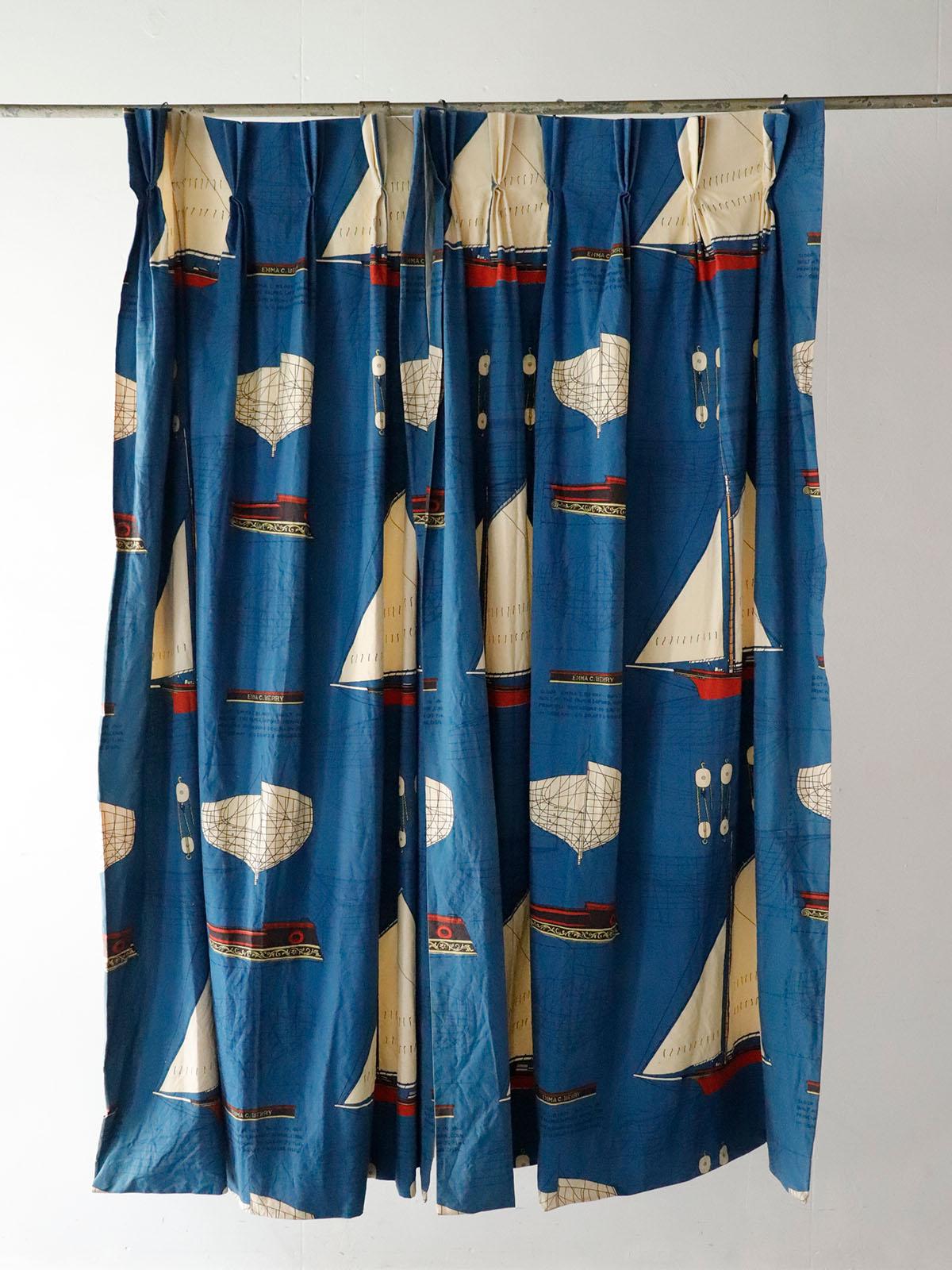 Vintage,EC BERRY print, USA, Curtain