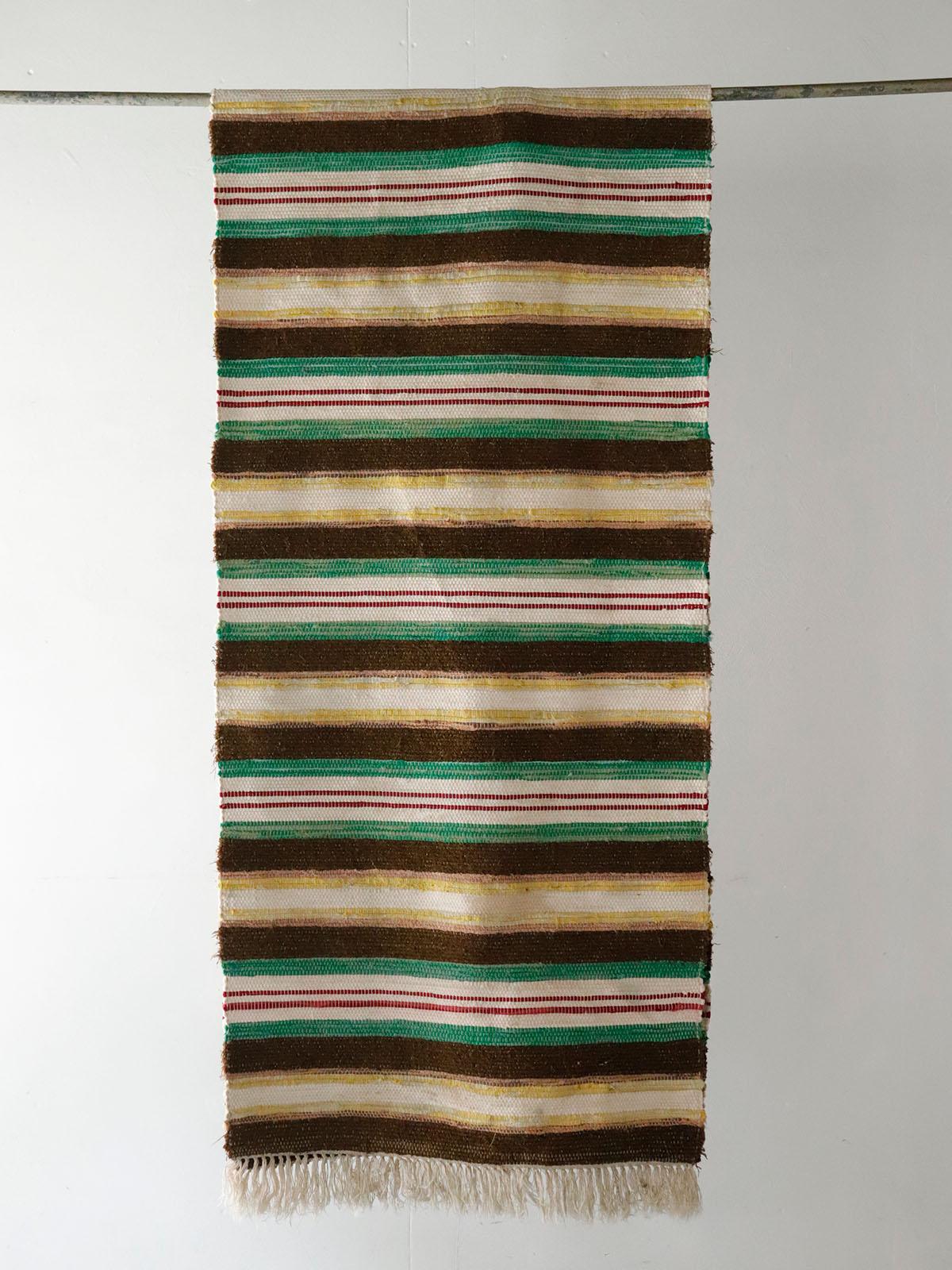 1920~30's,Sweden,rag rug,Vintage