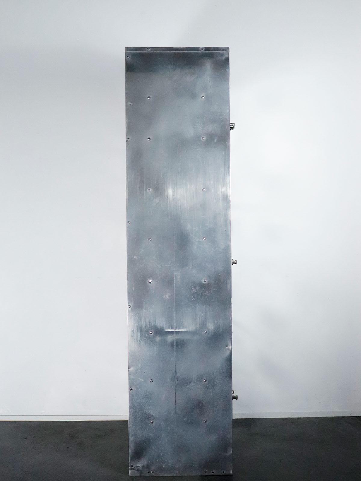 WWⅡ, USA,vintage,locker,USNAVY,aluminum