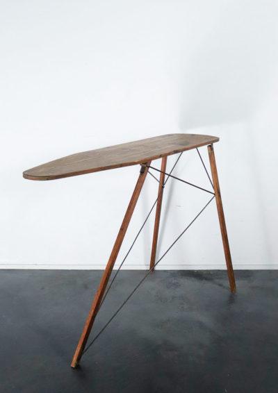 antique,wood,ironing board,folding,USA,