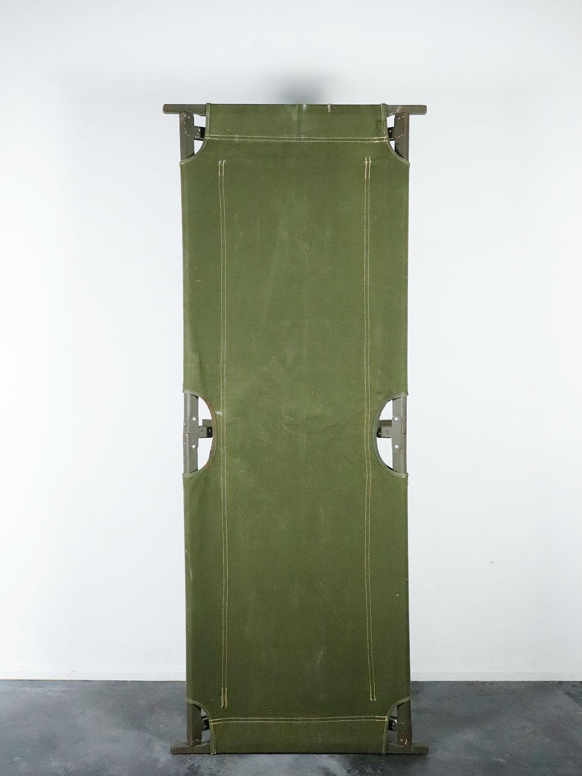 1950's,USM,folding cot,canvas,usa,vintage