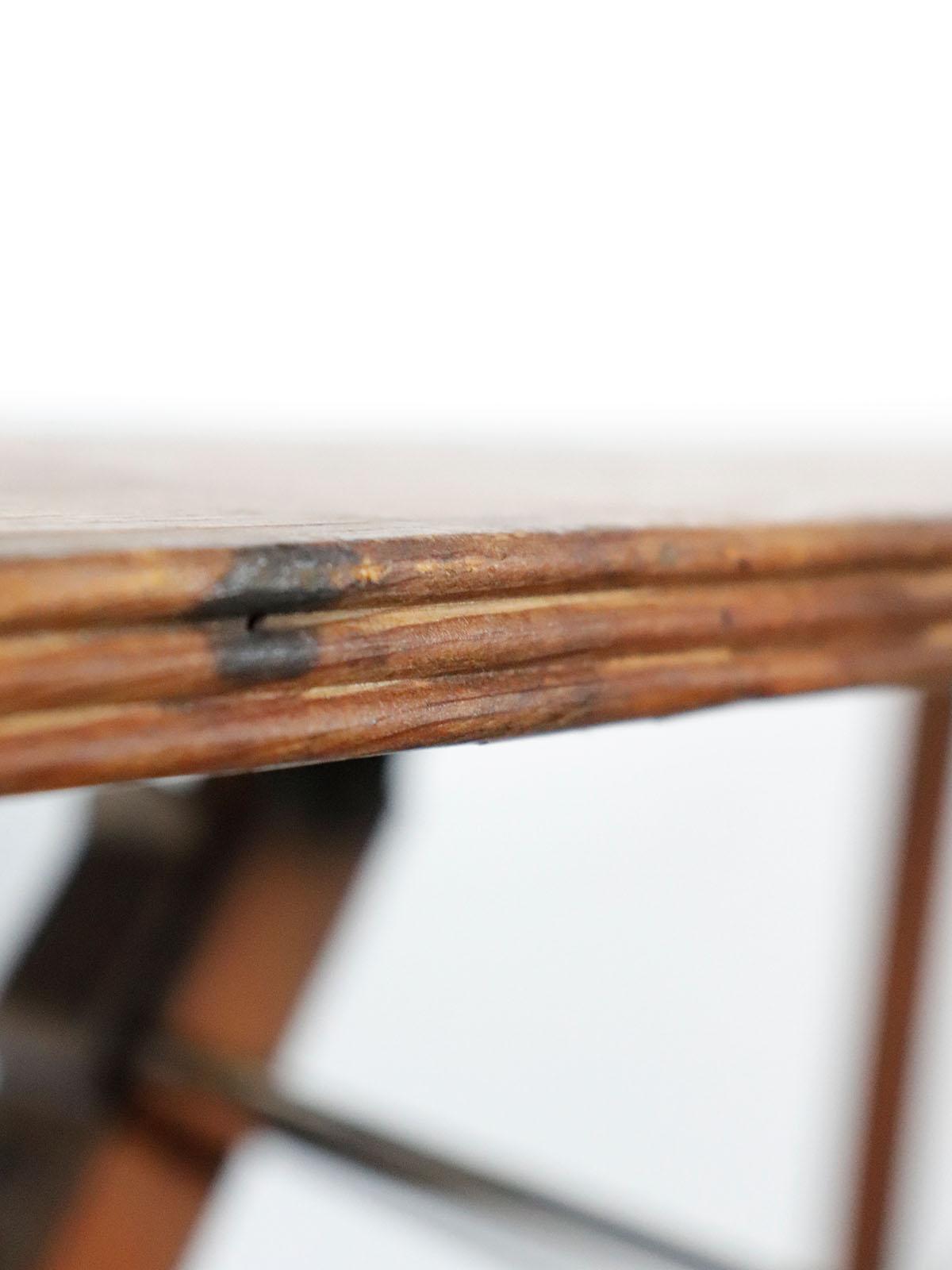_antique,wood,ironing board,folding,USA,