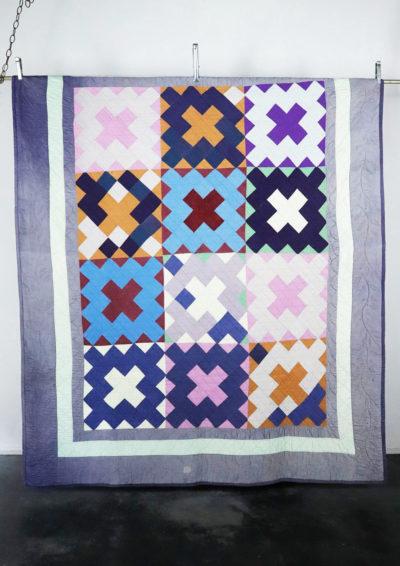 antique,handmade,amish quilt,USA,1930's,sampler