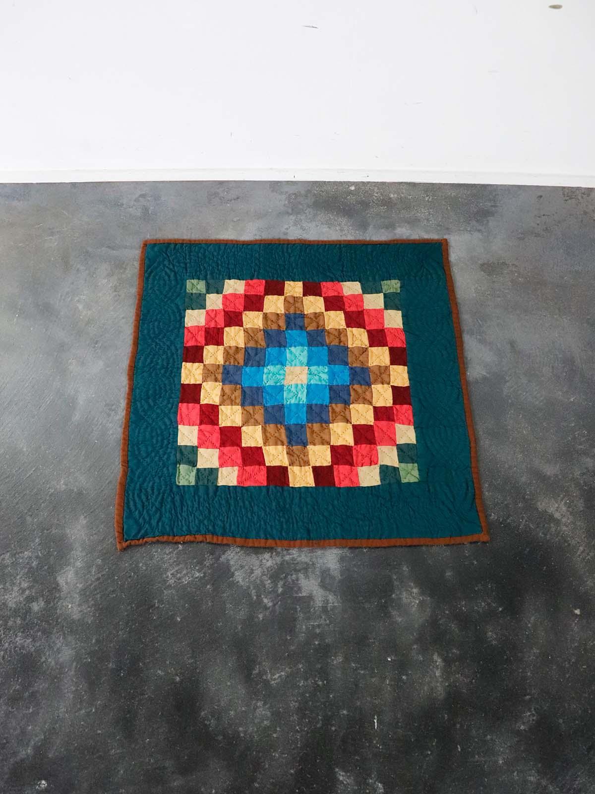 1920's,amish,crib quilt,antique,handmade,USA
