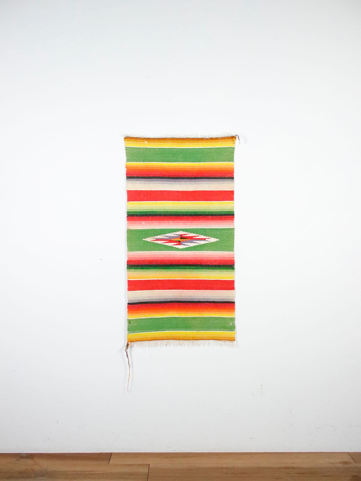 serape,small blanket,mexico,vintage